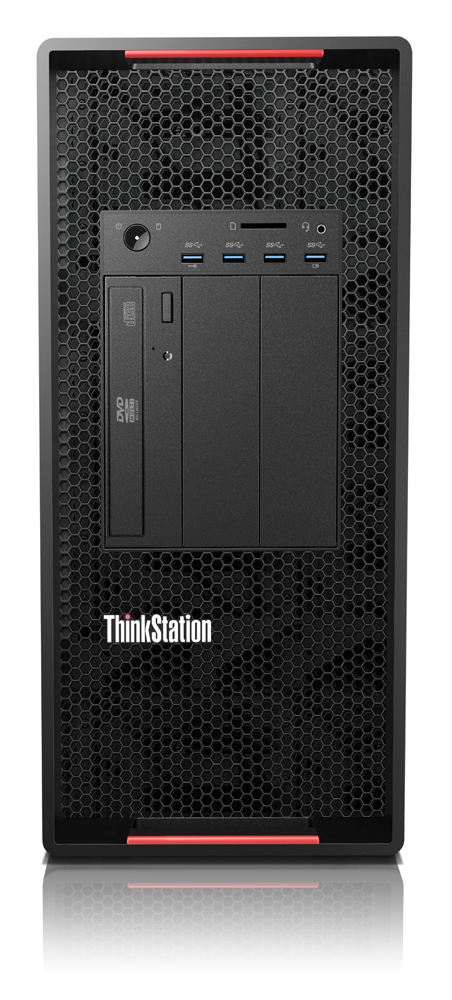 Lenovo ThinkStation P900 DDR4-SDRAM E5-2620V3 Tower Intel® Xeon® E5 v3 8 Go 256 Go SSD Windows 7 Professional Station de travail Noir